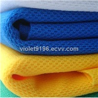 Coolmax eyelet fabric,100% polyester dry fit mesh sport fabric for sportswear,t-shirt,football wear