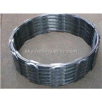 Galvanized Blade Razor Wire Outside Diameter 760mm (BTO-22)