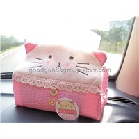Car Tissue Box