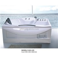 Classic Square Massage Bathtub