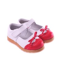Cow Leather Toddler Baby Shoes C-3301RD