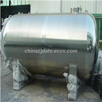 Drinking water tank for water treatment plant