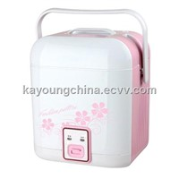 Electric home appliance mini portable rice cooker