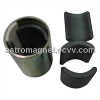 Ferrite Magnet for Starter Motors, Available in Arc Molds