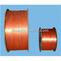 Heat resistance and high-voltage resistance submersible motor winding wire