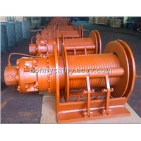 Hydraulic winch manufacturer