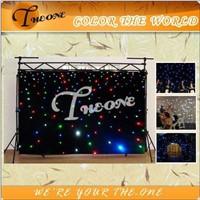 Wedding LED Star Lighting Curtain RGBW Quad Color LEDs (TH-501)