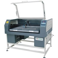 Old Style Embroidery Fabric Laser Cutter Machine Dilee 9050