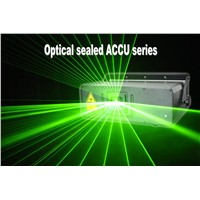 Optical Sealed Green Laser Show Light ACCU 1.0G