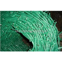 PVC Coated Barbed Wire SWG18