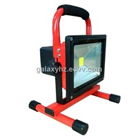 Portable & Rechargeable High Power Waterproof 10W LED Work Lamp Floodlight