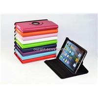 Premium Apple iPad Mini Smart 360 Rotation PU Leather Stand Cover Case Flip 360