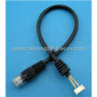RJ45 to molex 51021power cable