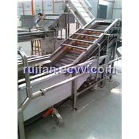 Raisin and apricot processing machine