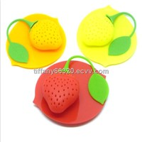 Silicone Tea Filter tea infuser tea strainer tea infusion with different shapes