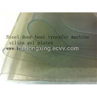 Steel door transfer machine silica gel plates