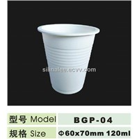 dispostable corn starch eco-friendly cup 120ml