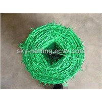 Galvanized Barbed Wire ISO Factory Double Twisted 2.5mm Diameter 25kg/Coil