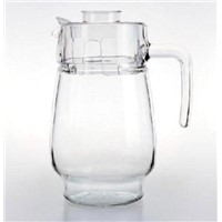glass jug and cu set,water jug,drinkware glass glass water pot/glass pitcher/high-white glass kettle