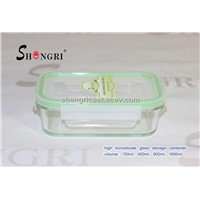 high borosil glass food storage set