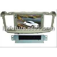 in-dash/touch screen car dvd gps player with tv for Peugeot 508