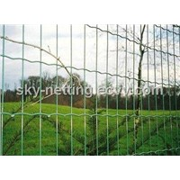 PVC Coated Mesh Fabric Fencing