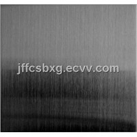 ti-coating black hairline surface stainless steel coloured sheets