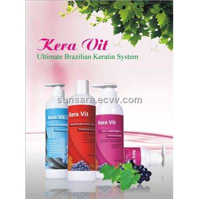 Kera Vit brazilian keratin hair care treatment