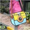 2D 3D Camera Cartoon Shoulder Messenger Bag