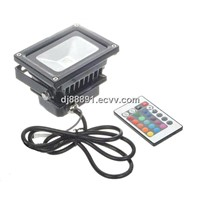 10w Remote Control Outdoor LED Floor Light