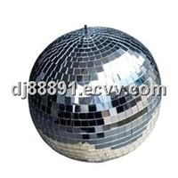 Disco Rotating Colorful Effect Mirror Ball