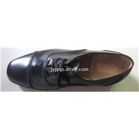 High Quality Suede Cow Leather Military Officer Shoes
