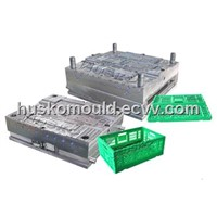 Plastic Foldable Crate Mould