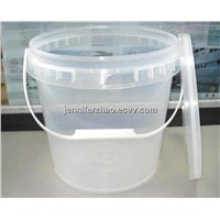 Transparent Plastic Barrel