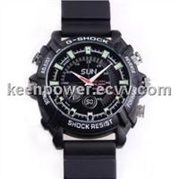 1080p IR Night Vision Waterproof Spy Watch Camera 8gb