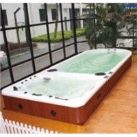 2013 Hot Sale 6 Persons New Design Full Aristech Acrylic Garden Swimming Pool Spa Hot Tub Outdoor Wh