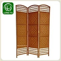 2013 Light coffee colour and cheap folding room dividers/ screens