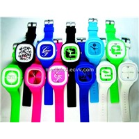 2013 Popular Jelly Watch with LED Light Watch
