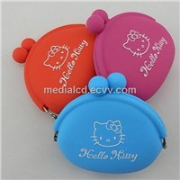 2013 Hot Selling New Fashion Silicone Wallet, Purse, Coin Case