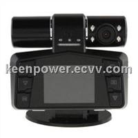 2.0 TFT Night Vision Video Dual Lens Camera Car Vehicle DVR Recorder Camera-CD7007