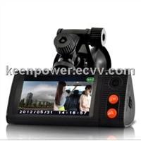 3 Inch Touchscreen Dual Camera Car Blackbox DVR+Mini DVR-CD7009