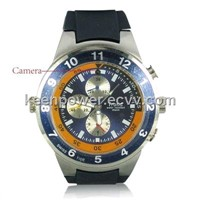 4GB Storage Spy Watch Video Recorder with MP3 Player and Hidden Camera(SW1044)
