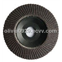 "4-1/2"" Aluminum Oxide Flap Disc with Plastic Base"