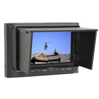"5"" HD FPV Monitor (FPV-500A) w/ Sun Shield for FPV, aerophotography, RC model"