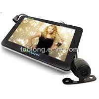 5inch Large screen LCD Dual Cam GPS Car DVR Recorder