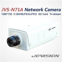 720P H.264/MJPEG/JPEG Hi3507 SD Card D1  CMOS Network IP security camera