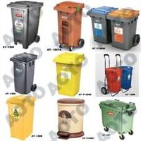 Aoto Plastic Waste Bin / Trash Can / Garbage Can