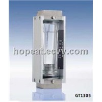 BROOKS HIGH FLOW GLASS TUBE VARIABLE AREA METER GT1305