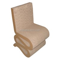 Eco-friendly cardboard chair for home,office,shows(B&C-F007)