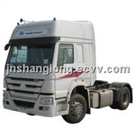 China Manufacturers 4x2  Tractor Head HOWO Truck Price